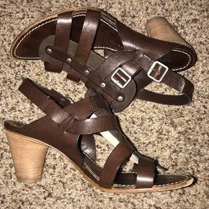 Attilio Guistl Leombruni Italian Leather Sandals